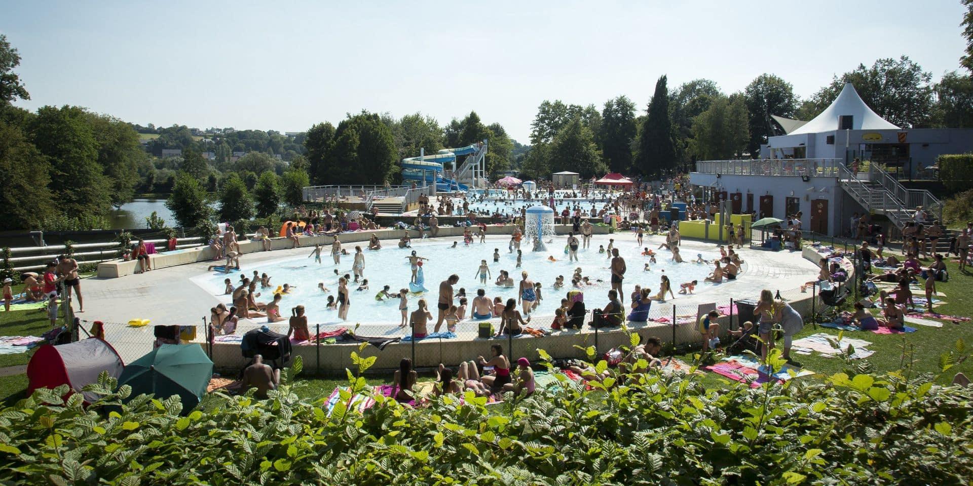 La piscine ouverte pour tous au Domaine de Wégimont