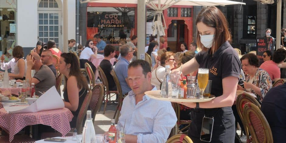 Hainaut: l'emploi dans l'Horeca chute de 18,5 %