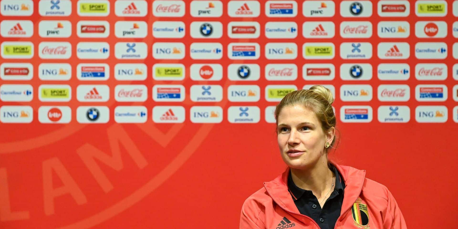 """La Red Flame Justine Vanhaevermaet suit de près l'équipe norvégienne: """"On peut obtenir un résultat"""""""