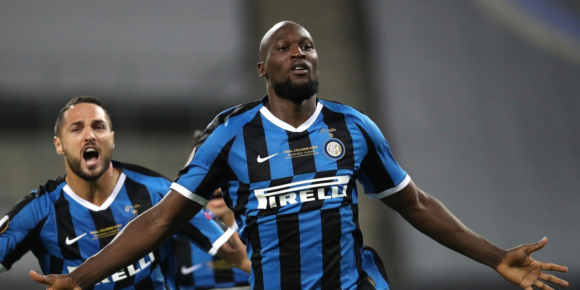 Romelu Lukaku marque en finale d'Europa League et égale Ronaldo pour sa première saison à l'Inter (VIDEO)