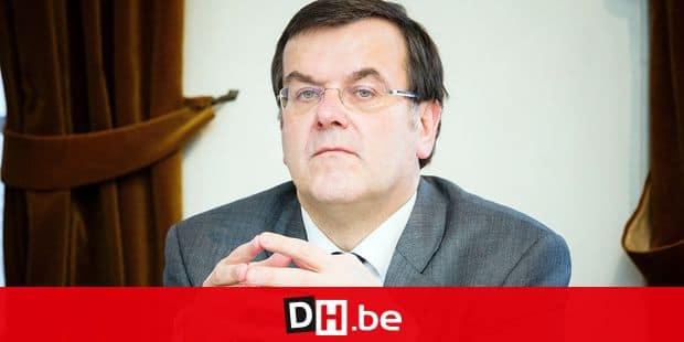 Conférence de presse de l'université de Liège sur le projet Tadam en présence du bourgmestre Willy Demeyer