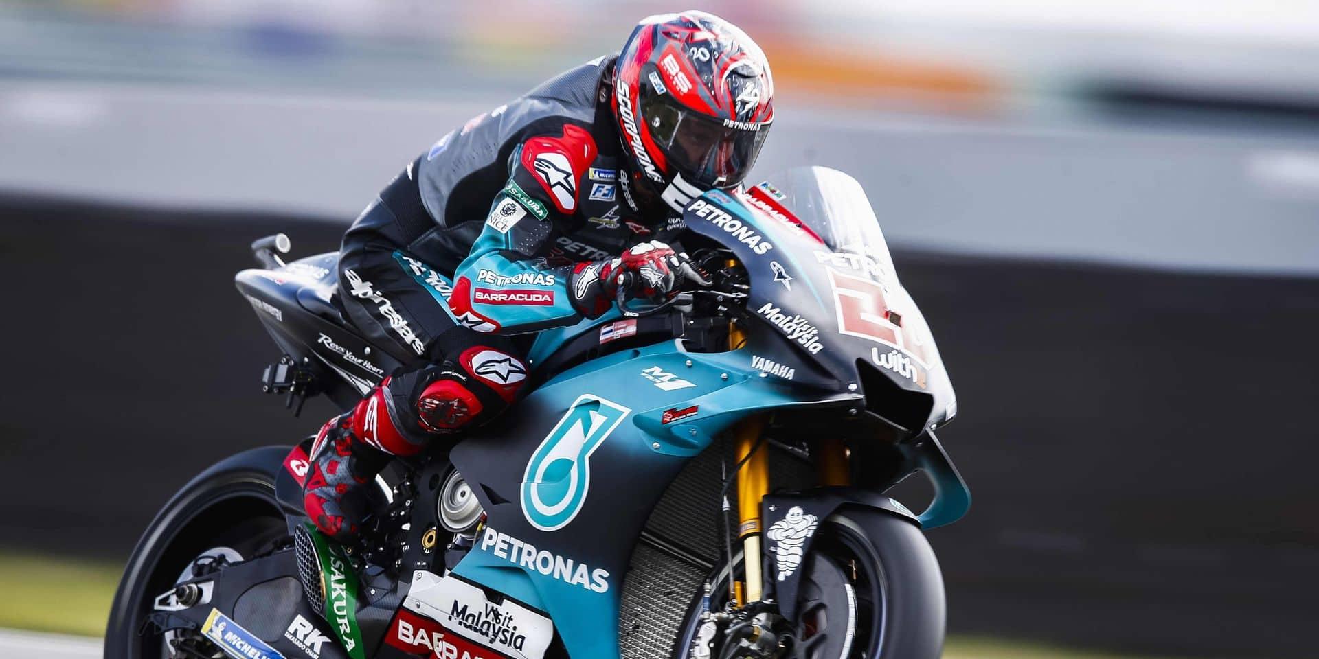 MotoGP: le Français Fabio Quartararo encore en pole position au GP des Pays-Bas