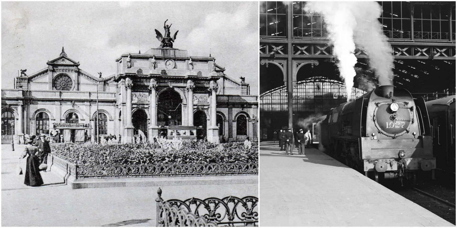 Paris-Nord - Bruxelles-Midi, une histoire vieille de 175 ans: à l'époque, les trains à vapeur mettaient 12 heures 30