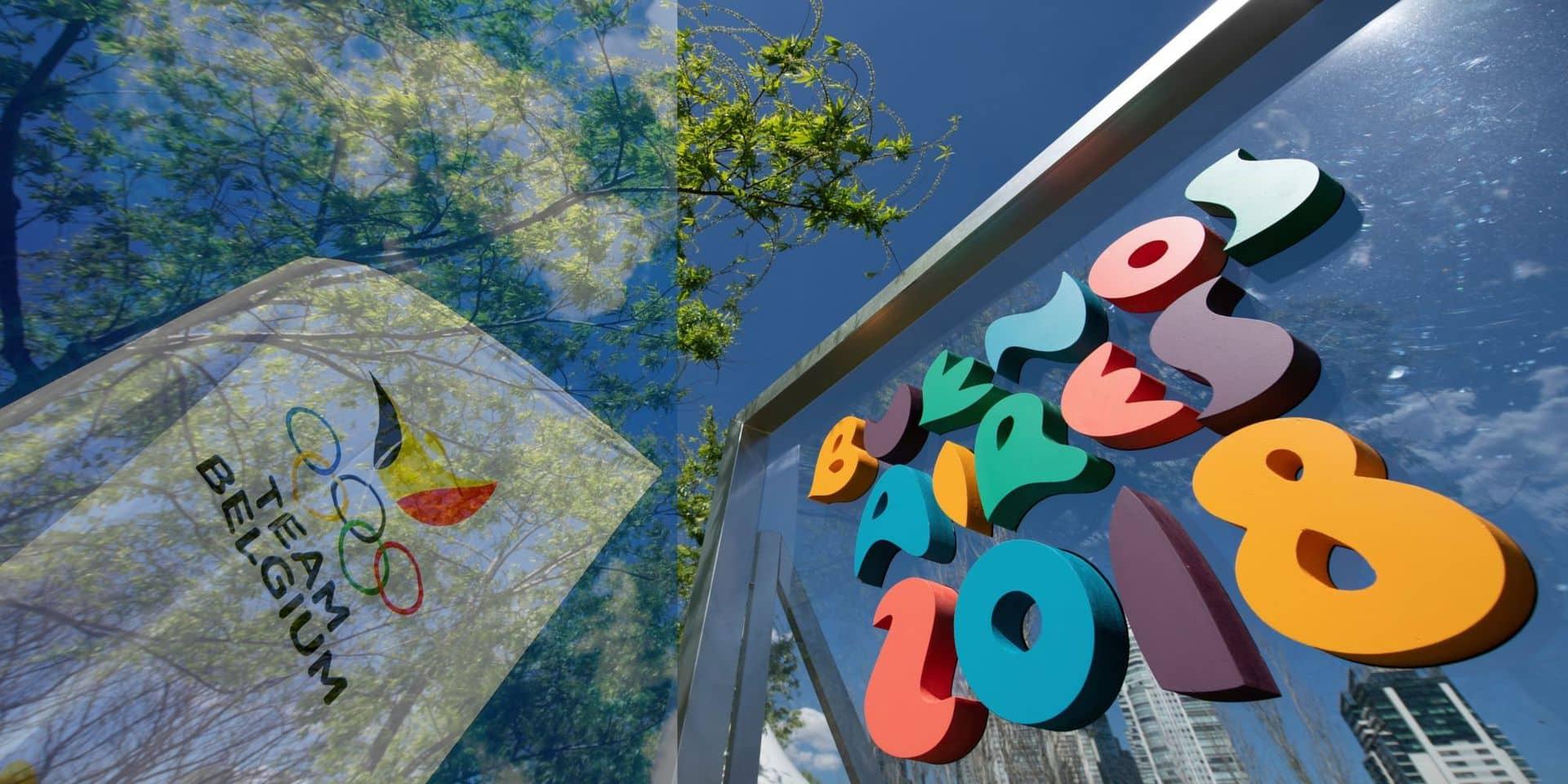 32 ados belges à l'assaut des anneaux olympiques