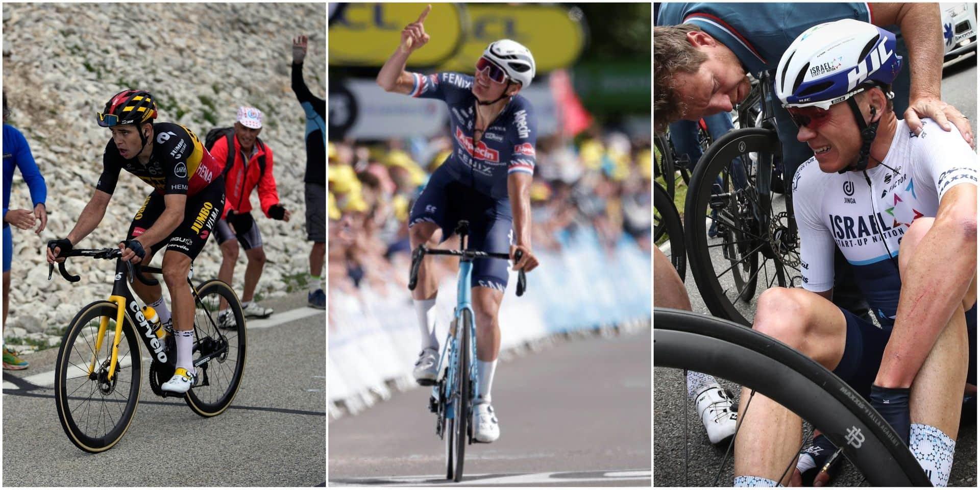 """Les résultats de nos sondages du Tour: Six """"Eddy"""" pour Wout Van Aert"""