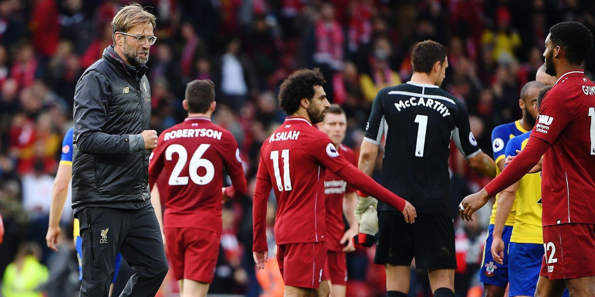 Le début de saison record et historique de Liverpool
