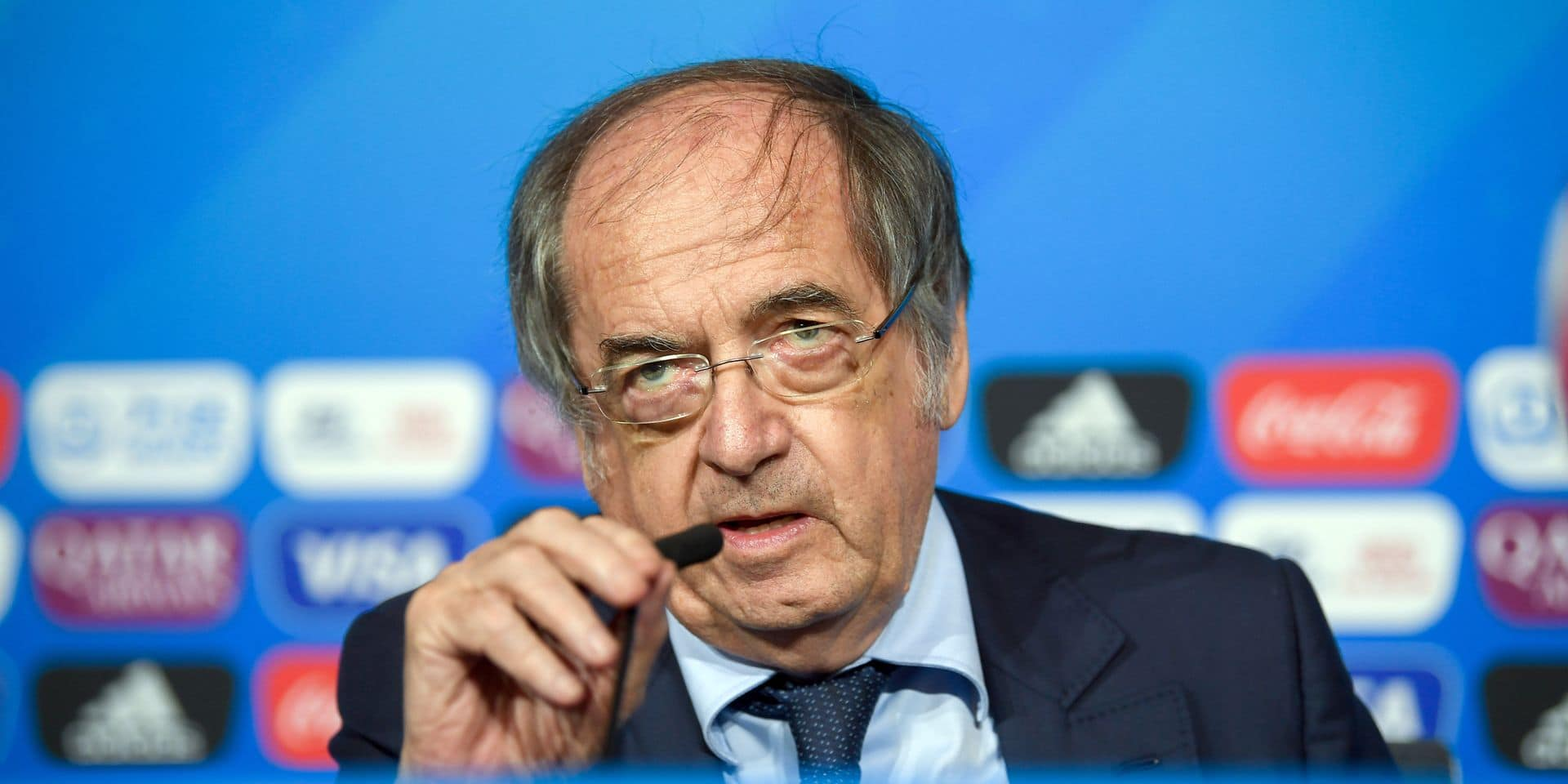 """""""Pas logique qu'ils soient devant au classement FIFA"""": ce qu'a dit le président de la FFF pour motiver les Bleus avant d'affronter les Diables rouges"""