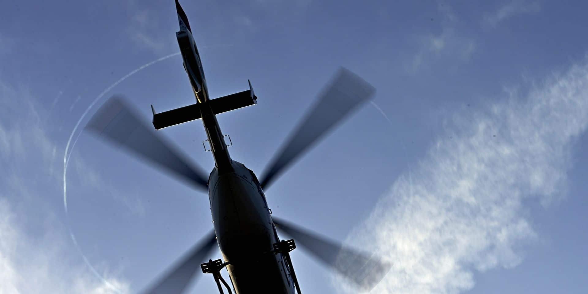 Deux morts et trois blessés dans un crash d'hélicoptère à Courchevel