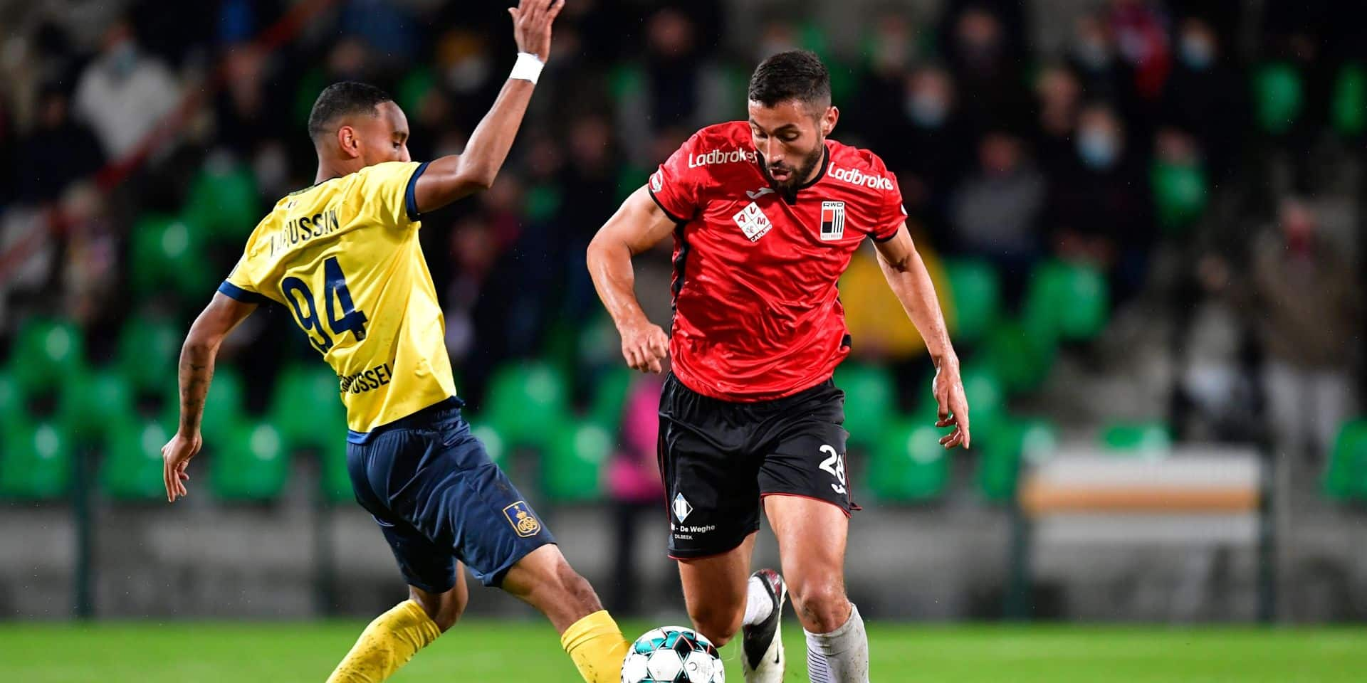 Le RWDM s'offre le derby bruxellois face à l'Union Saint-Gilloise