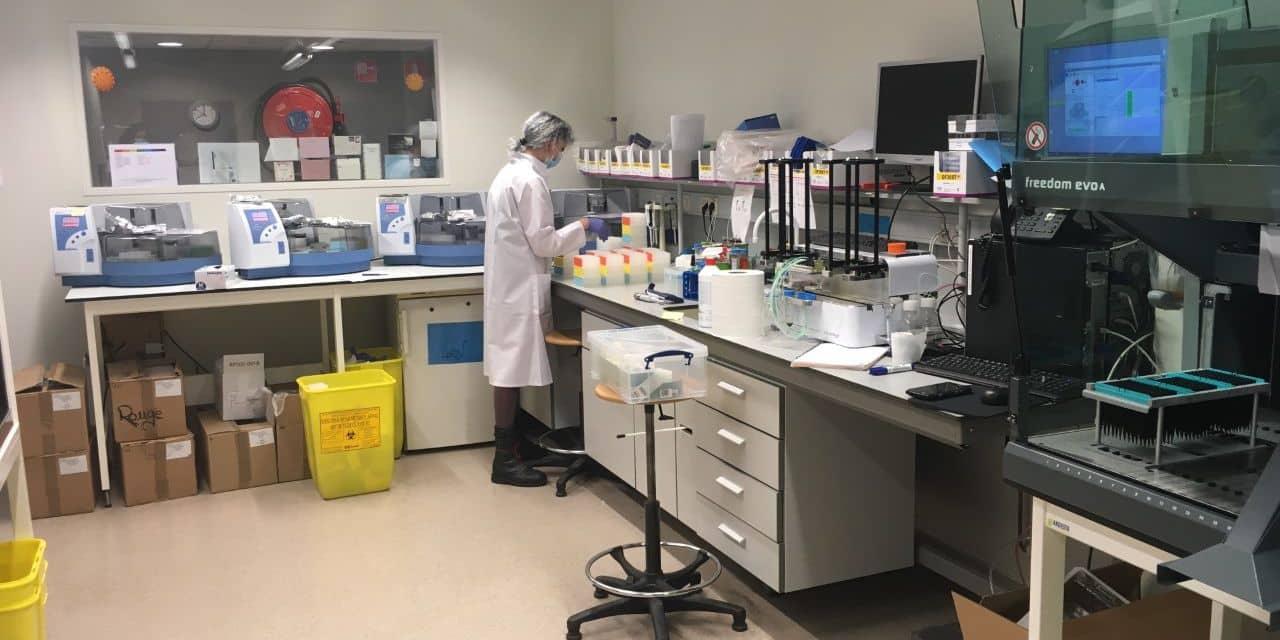 Près de 12 000 analyses de tests salivaires ont été réalisées après deux mois de testing du personnel des maisons de repos de Wallonie picarde