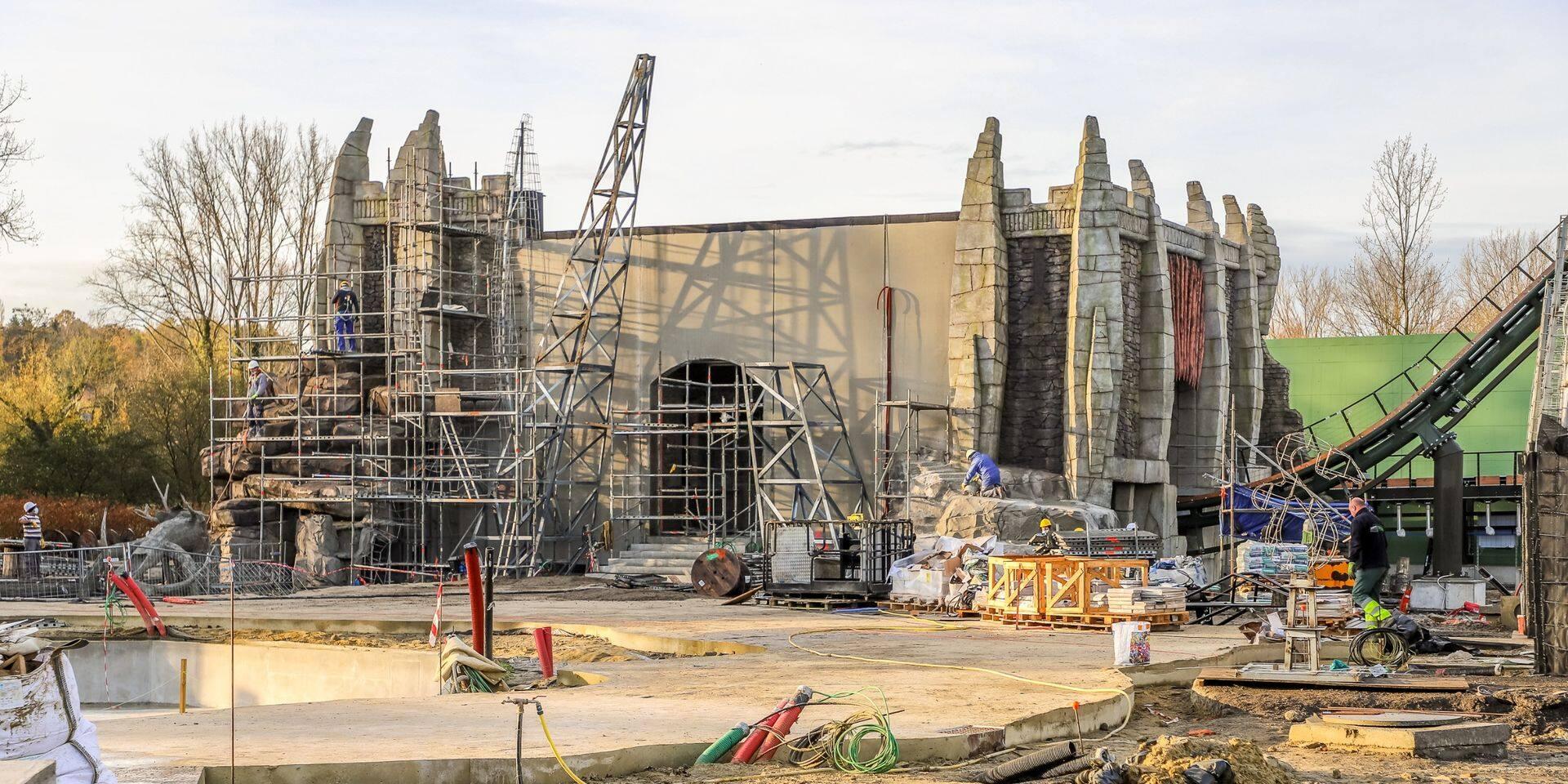 Voici les dernières photos du mégacoaster de Walibi, qui sera inauguré en 2021