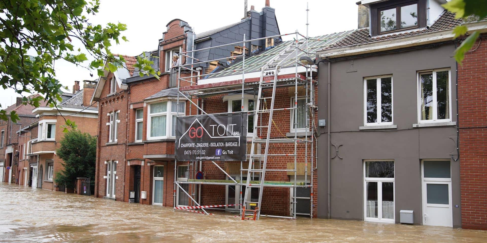 Inondations: encore 200 ménages privés d'électricité en Brabant wallon