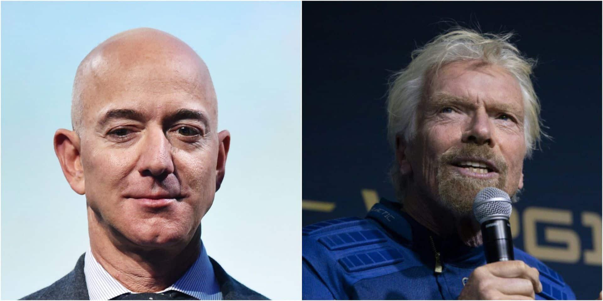 La guerre des étoiles : quand la course vers l'espace des milliardaires s'emballe