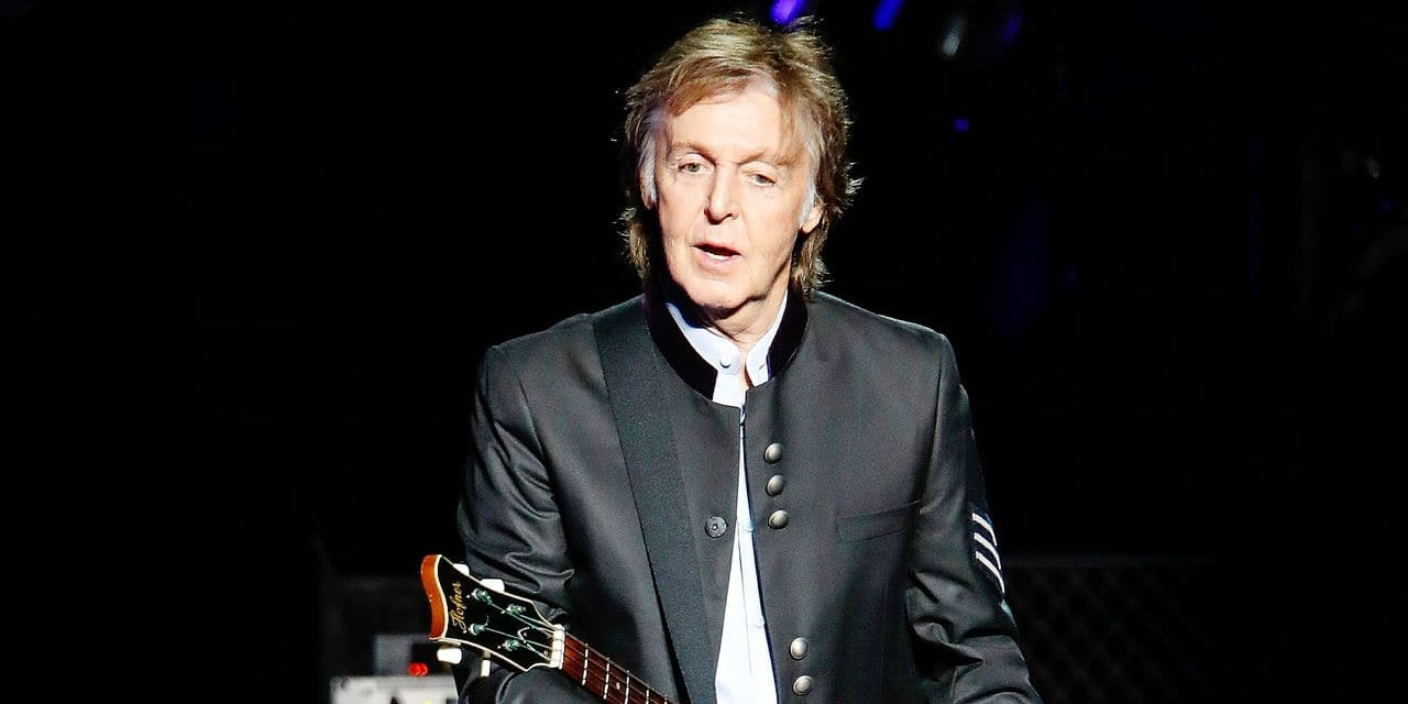 Paul McCartney performs in Tinley Park