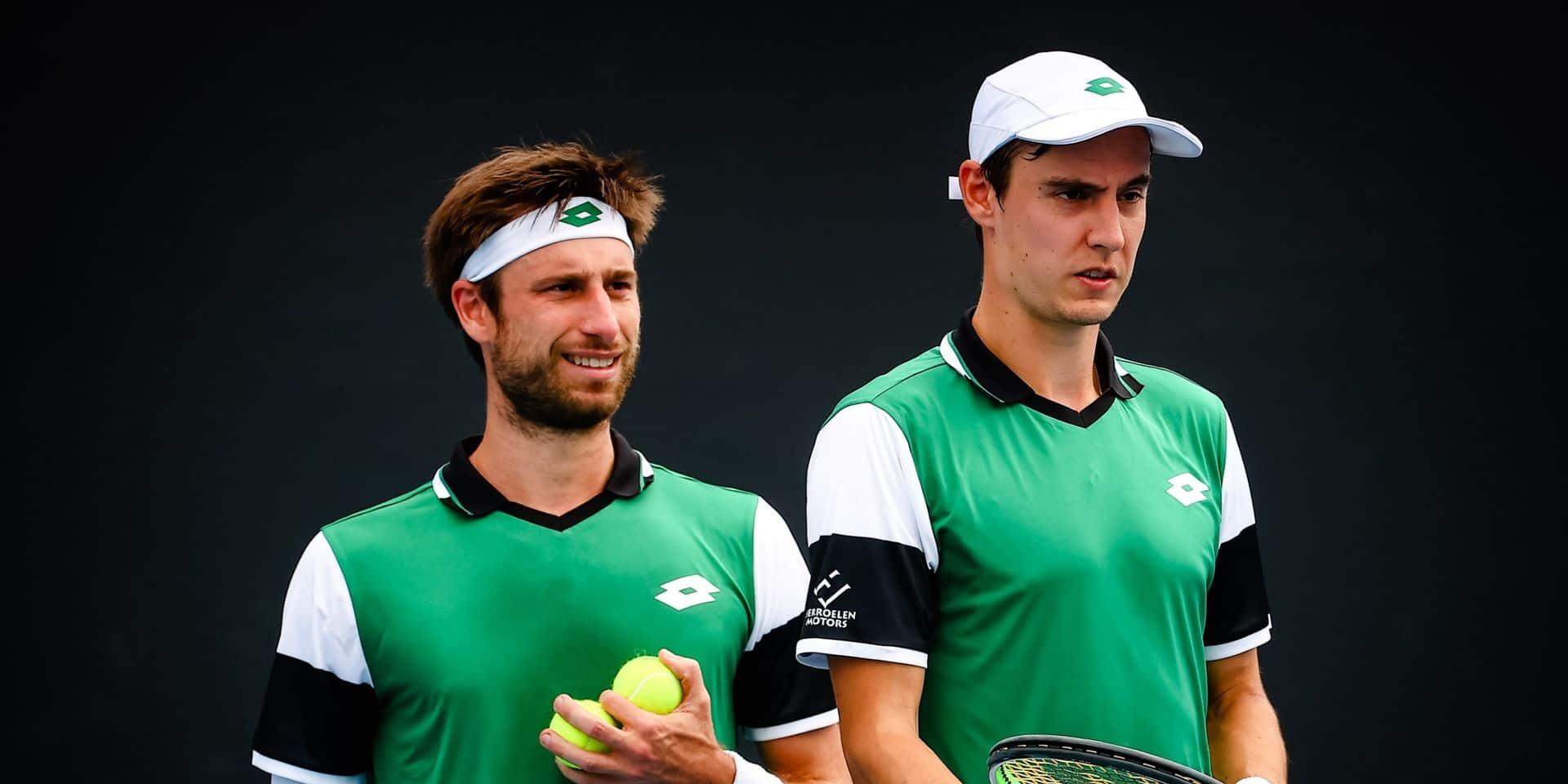 ATP Singapour: Gillé et Vliegen décrochent leur cinquième titre ATP en double