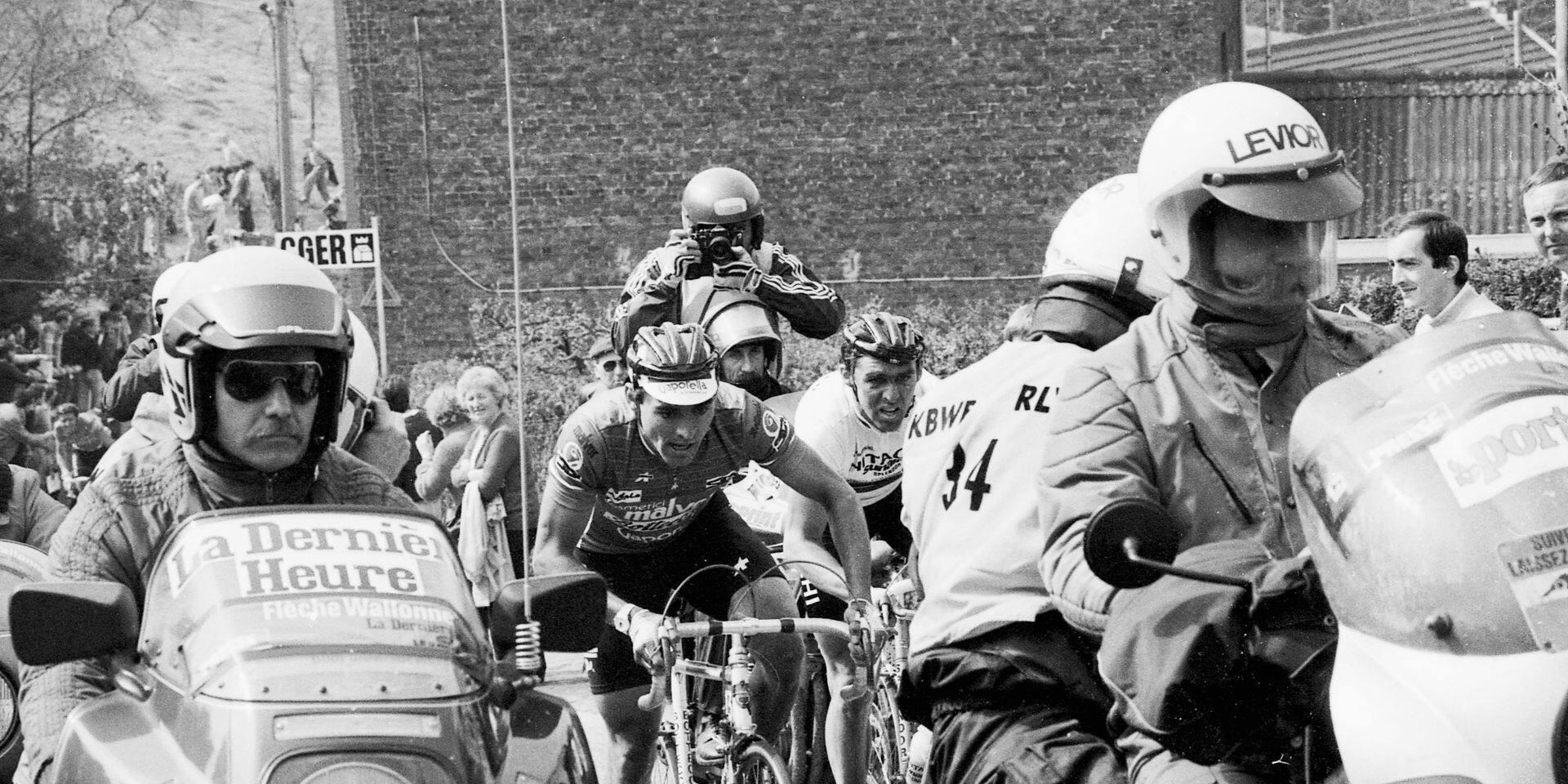 Les classiques dans le rétro, la Flèche Wallonne 1985: Claudy Criquielion, un arc-en-ciel sur la Wallonie