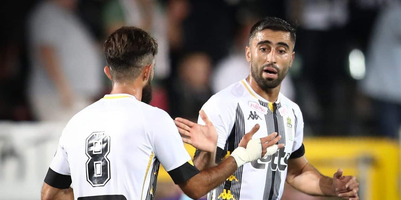Charleroi surclasse le Beerschot grâce à son duo iranien et poursuit son sans faute (3-1)