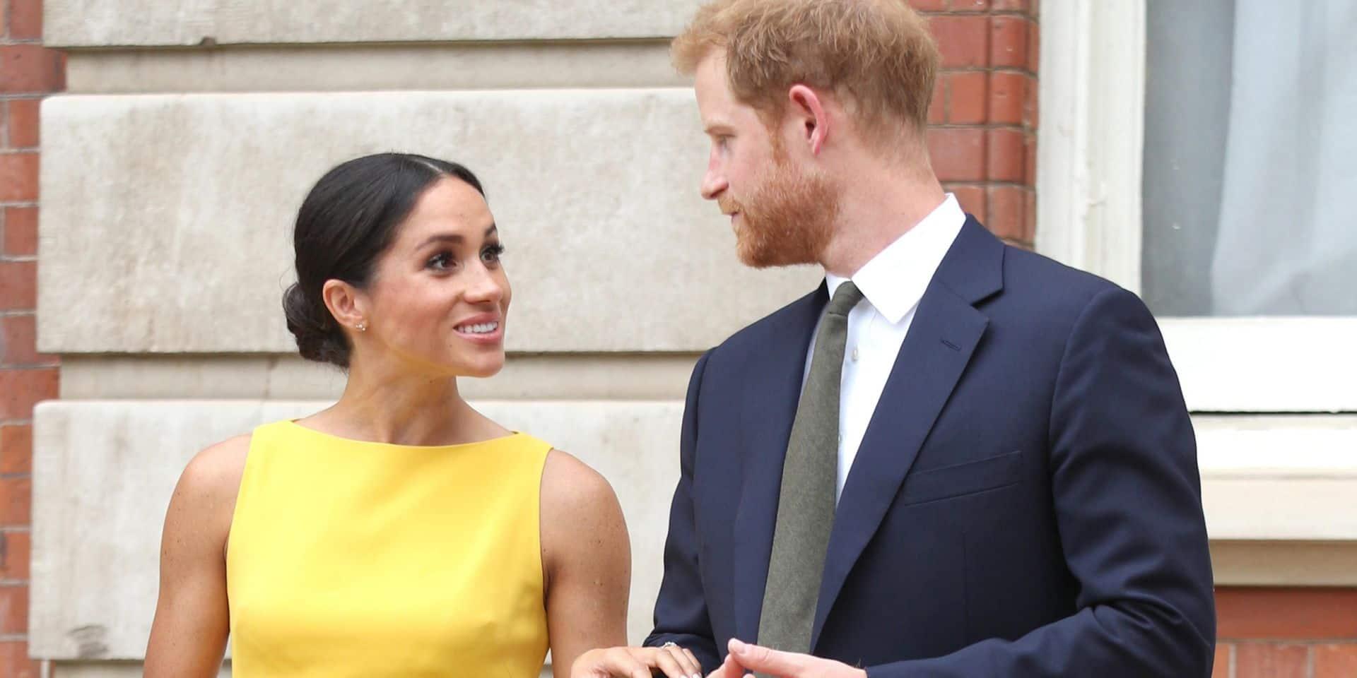 L'épouse du prince Harry, Meghan, est retournée au Canada retrouver son fils Archie