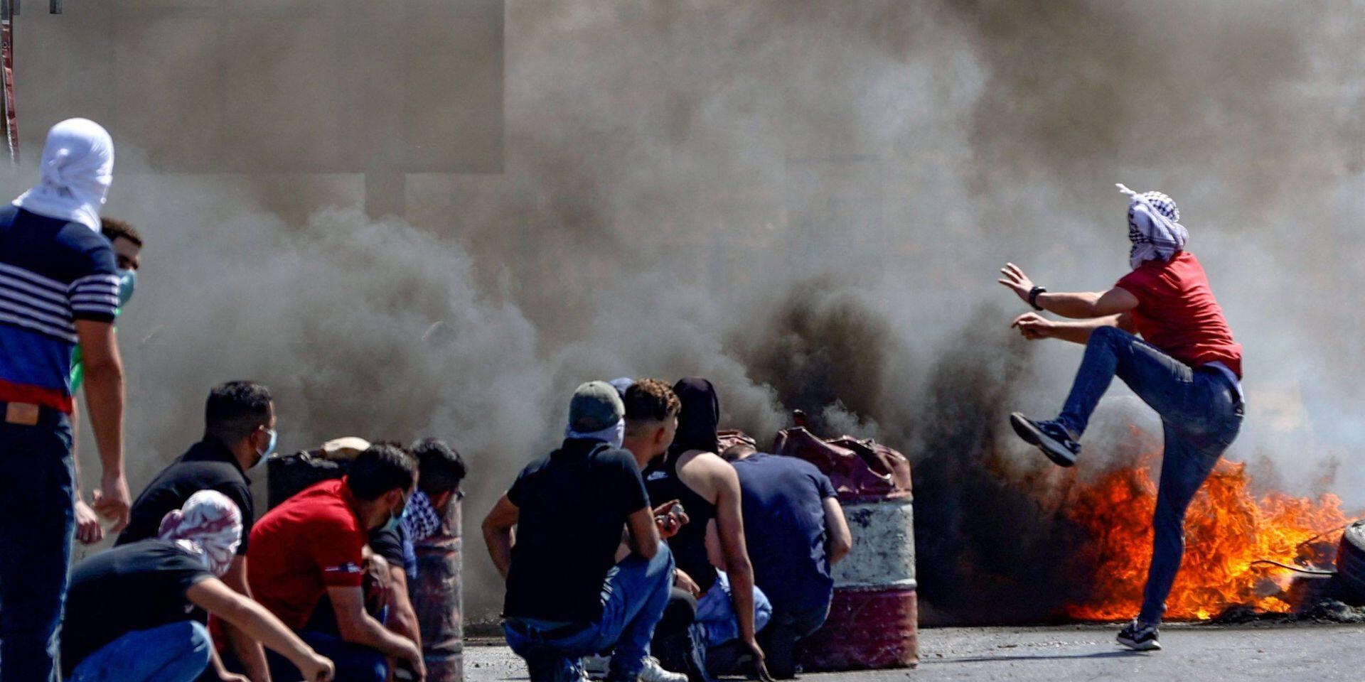 Conflit israélo-palestinien: deux Palestiniens tués dans des heurts avec l'armée israélienne, plus de 100 blessés