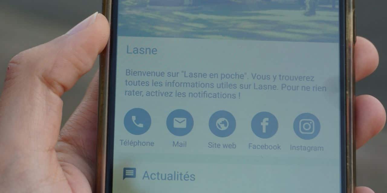 """""""Lasne en poche"""", le nouvel outil numérique de la commune"""