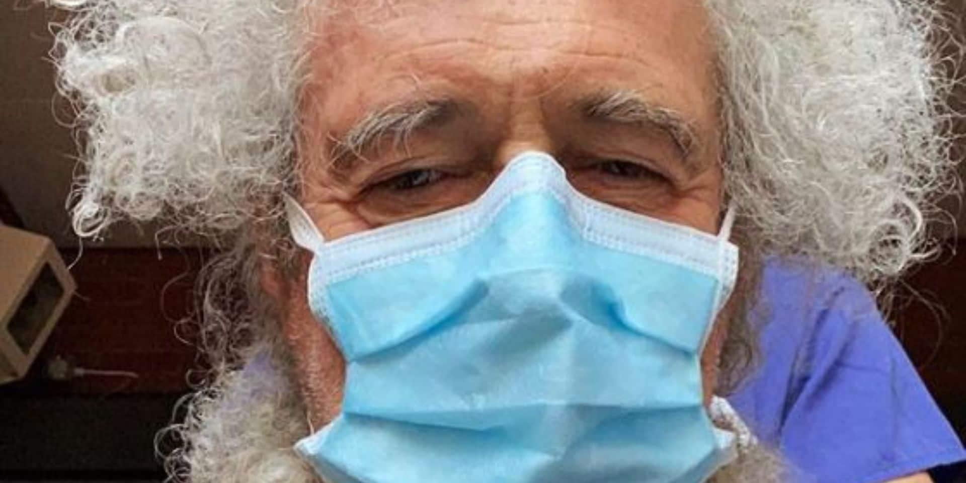 Brian May, le guitariste de Queen, à l'hôpital après un excès de... jardinage !