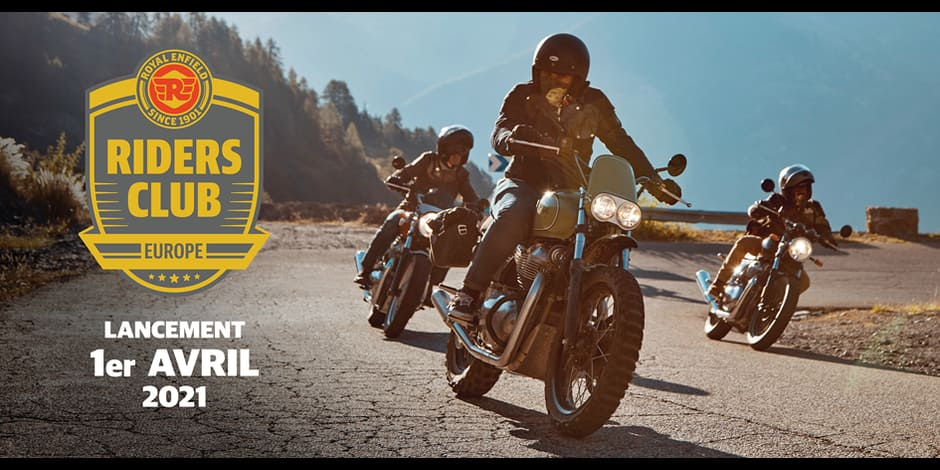 Royal Enfield lance le Riders Club of Europe