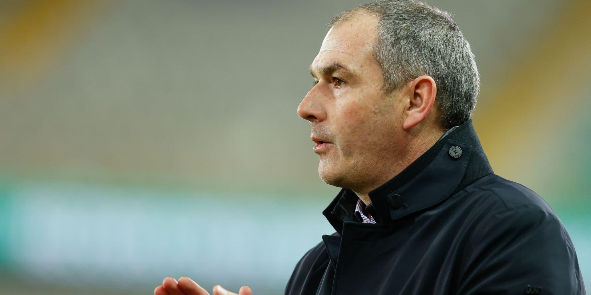 Le Cercle de Bruges vire son entraîneur Paul Clement