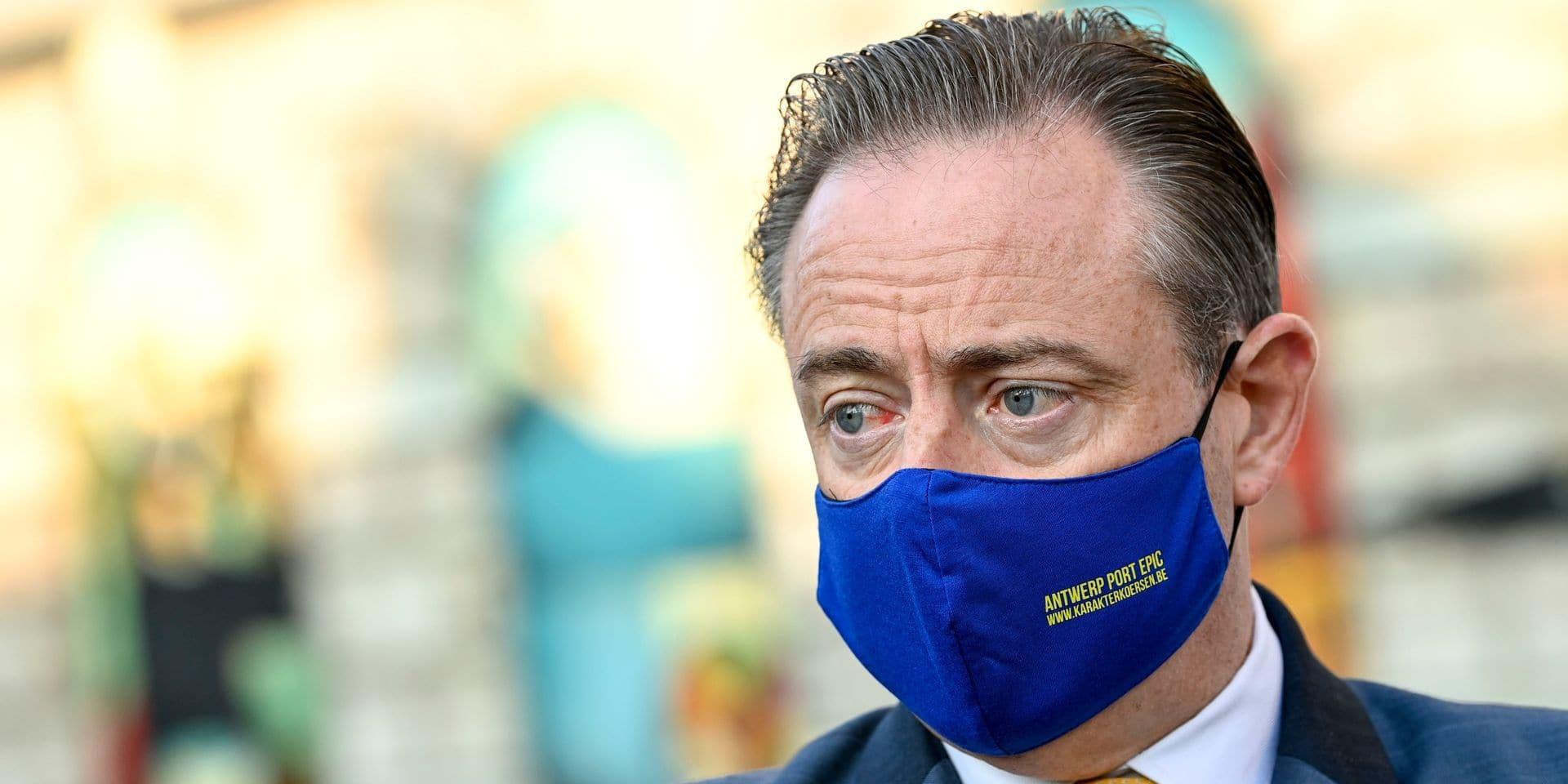 Bart De Wever, menacé par le milieu de la drogue, bénéficie d'une protection policière