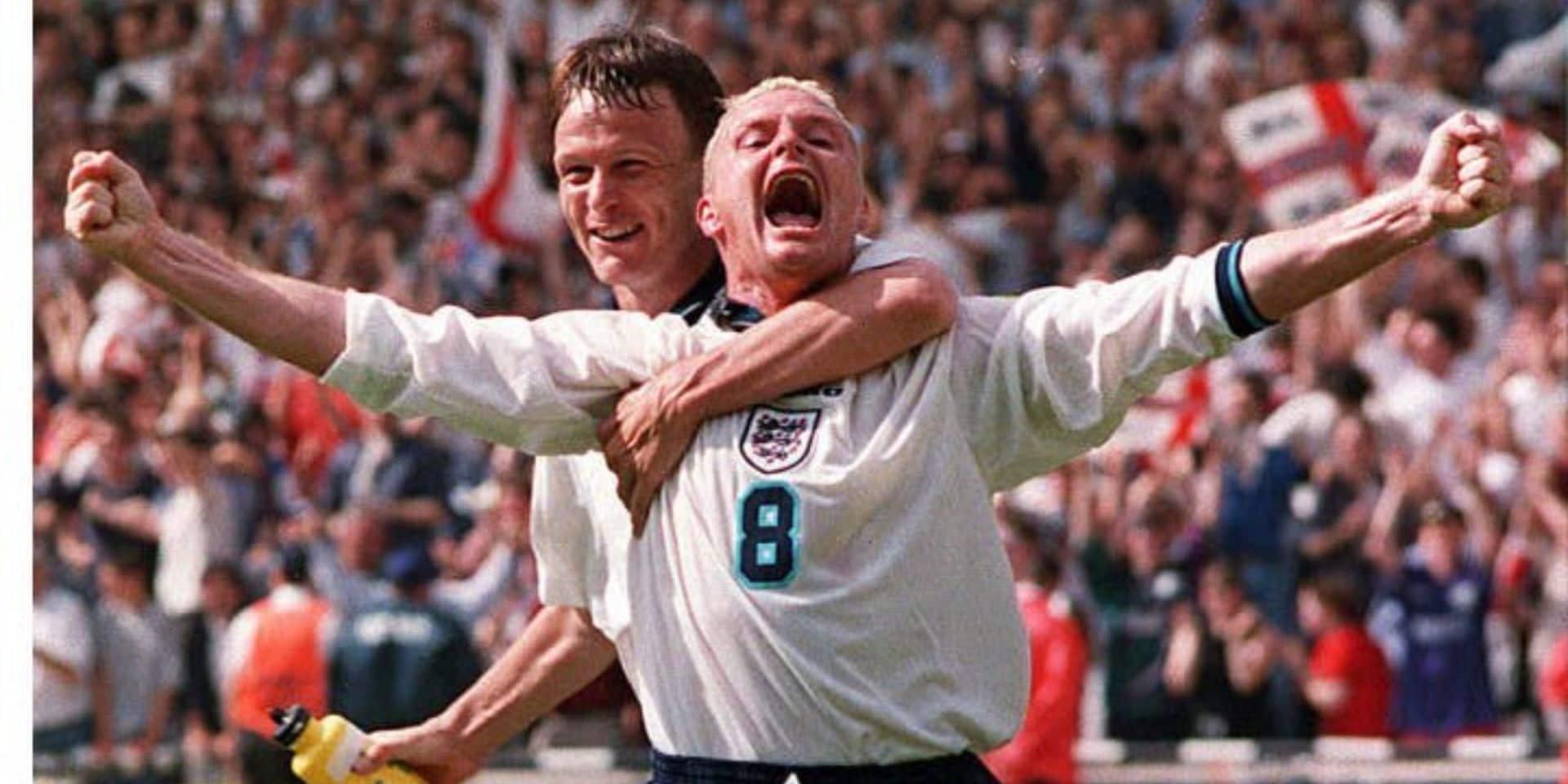 Il y a 25 ans, Gascoigne rentrait dans l'histoire avec un goal d'anthologie contre l'Ecosse (VIDEO)