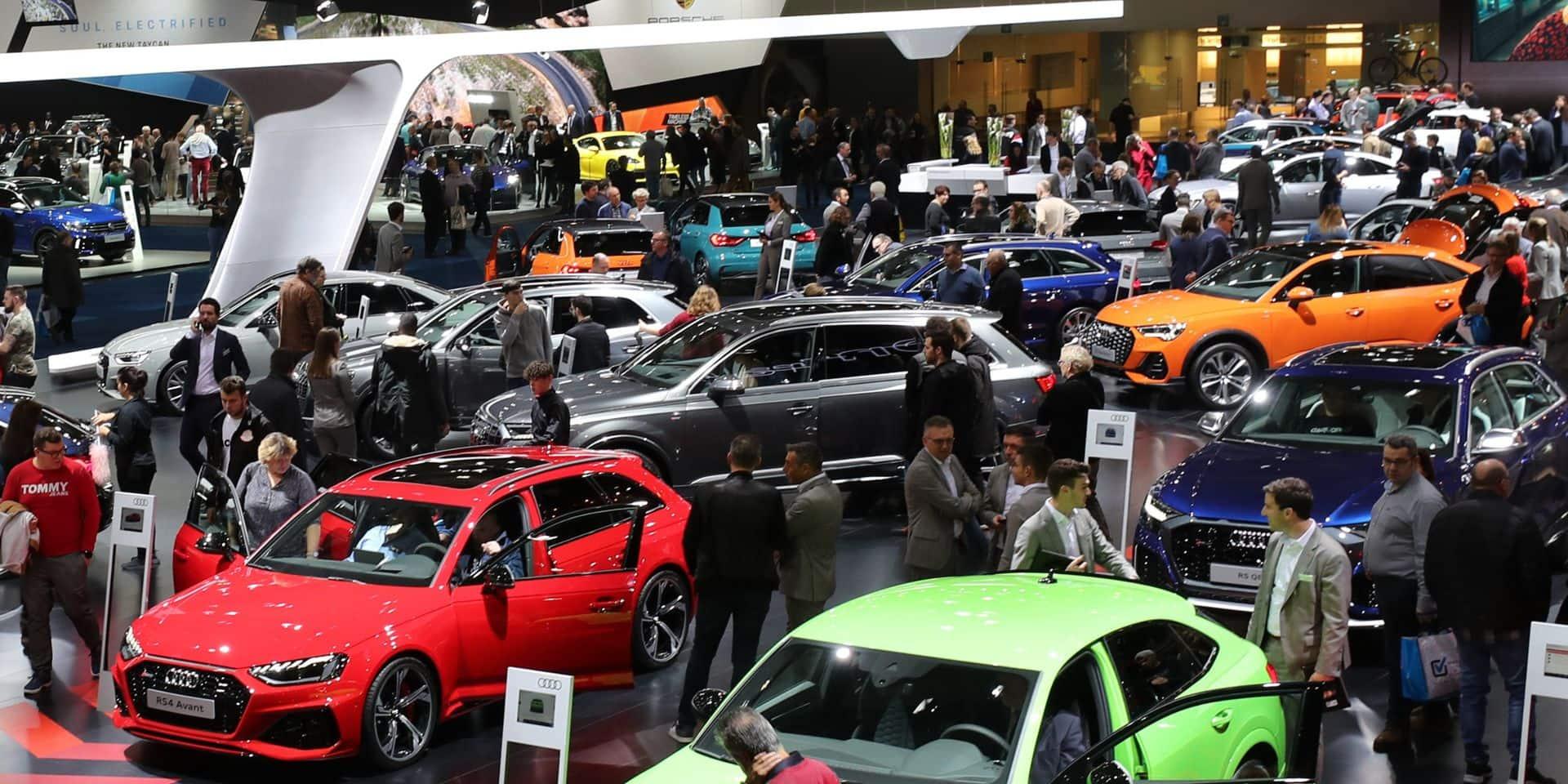 Près de 150.000 visiteurs pour le premier week-end du Salon de l'auto