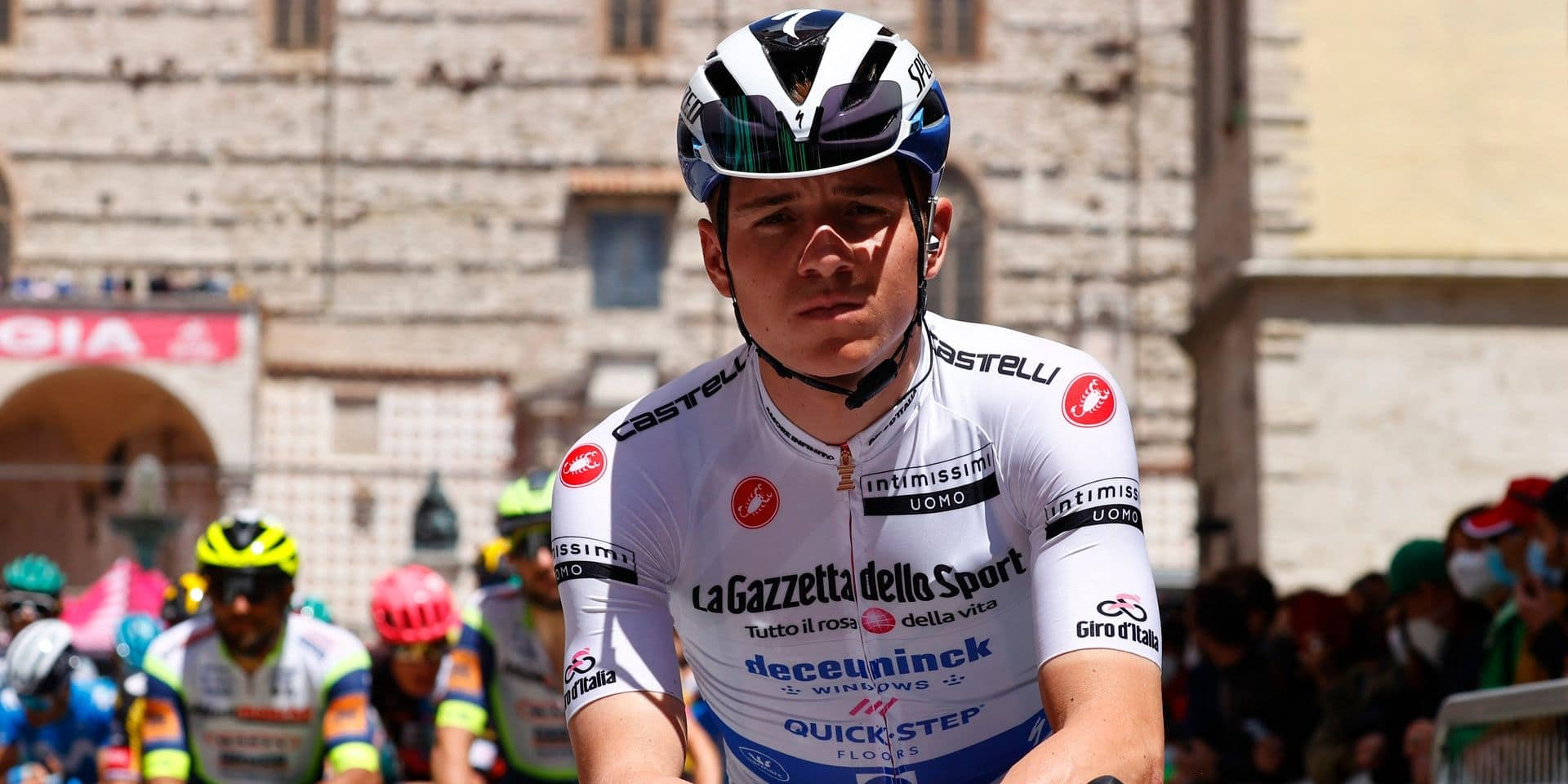 """Evenepoel après sa journée compliquée au Giro: """"Je n'avais plus rien dans les jambes"""""""