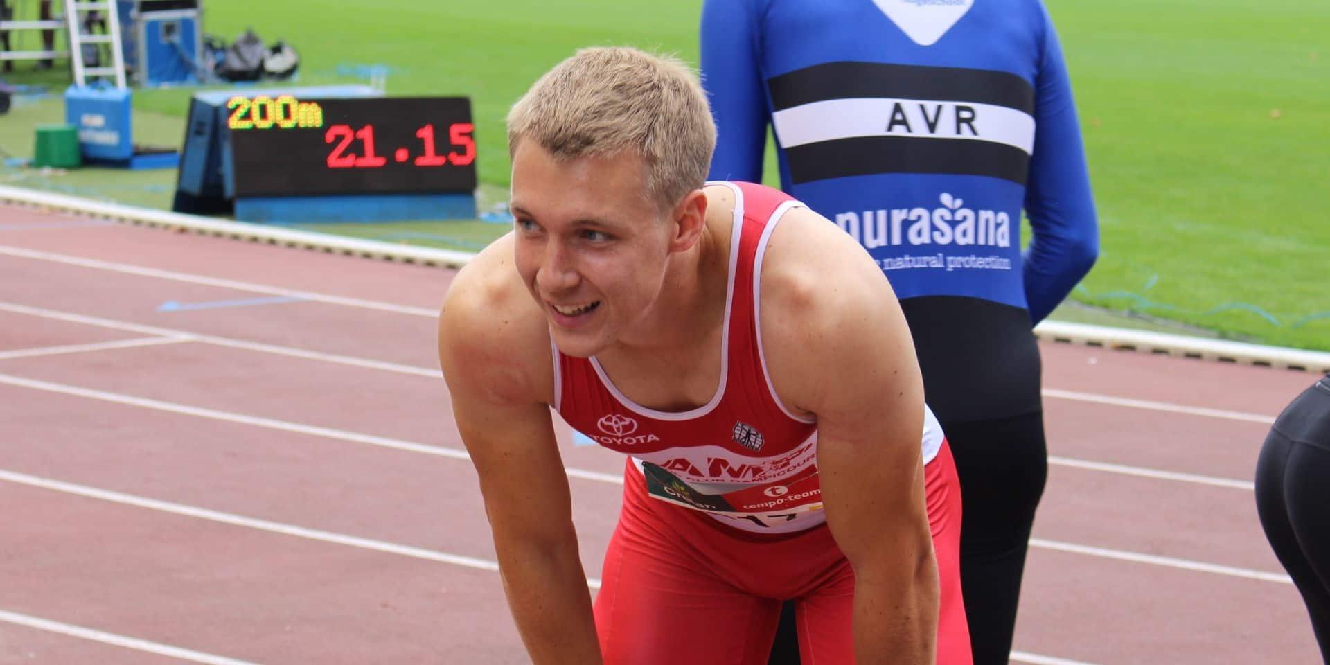 National d'athlétisme: l'or pour Watrin sur 200 mètres