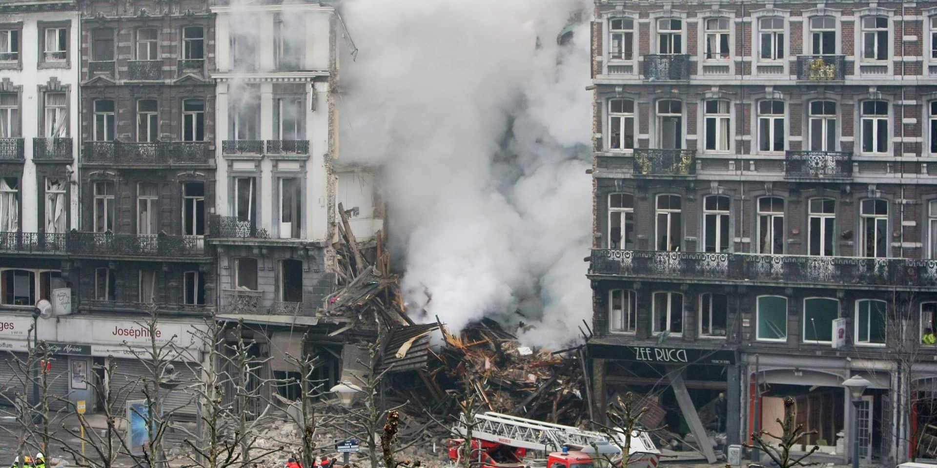 """Procès en appel de l'explosion de la rue Léopold à Liège, le propriétaire réfute toute responsabilité: """"C'est peut-être la locataire qui a laissé la cuisinière au gaz allumée"""""""