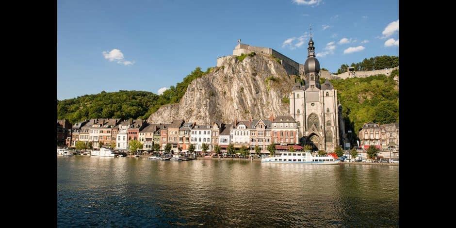 Dinant : abaissement du niveau de la Meuse de plus d'un mètre ce vendredi