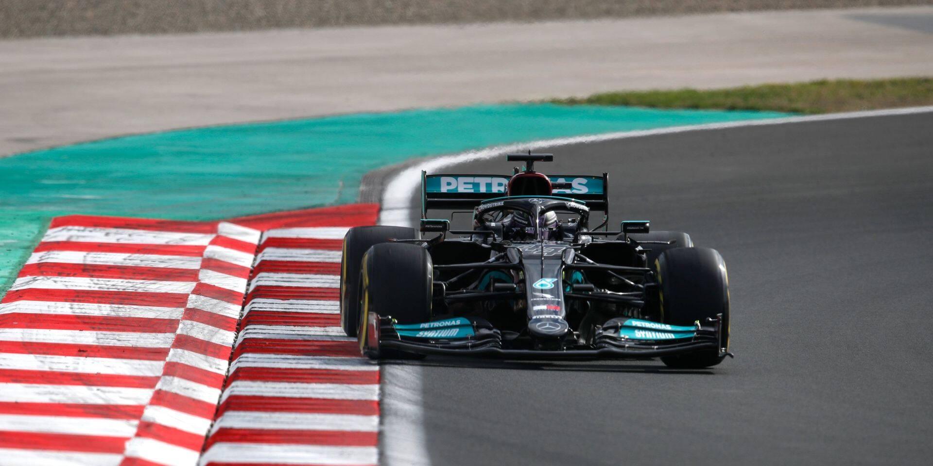 GP de Turquie (Libres 2): Hamilton insiste devant Leclerc et Bottas