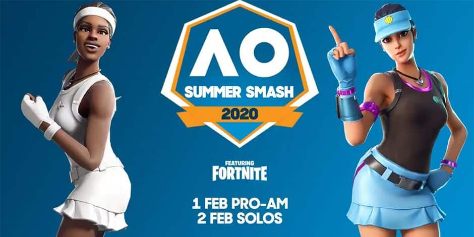 Le Fortnite Summer Smash revient pendant l'Open d'Australie 2020