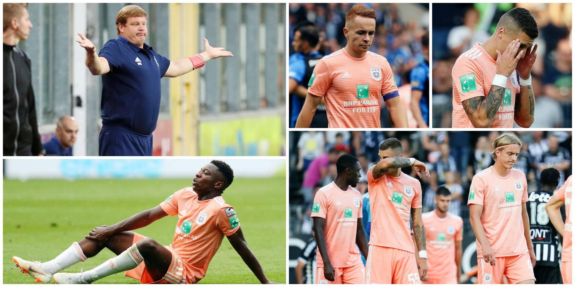 Absences en pagaille à Anderlecht: un vrai casse-tête pour Vanhaezebrouck
