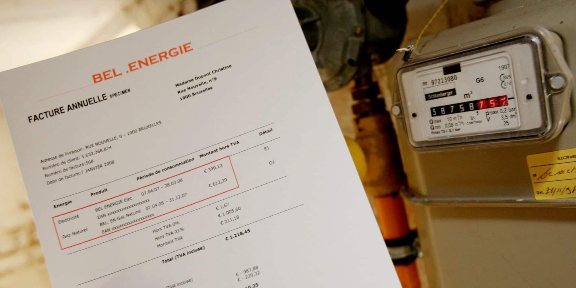 Les prix de l'électricité et du gaz restent bas en Belgique selon des statistiques
