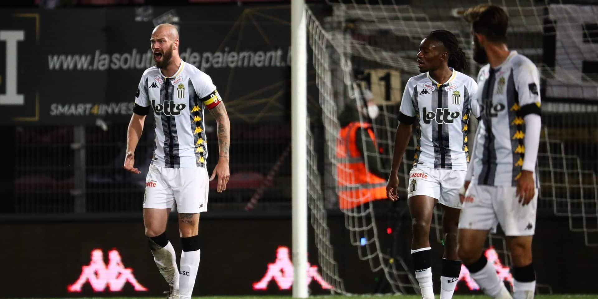 """Dessoleil réagit après la défaite de Charleroi: """"Certains ont oublié que c'était un derby"""""""