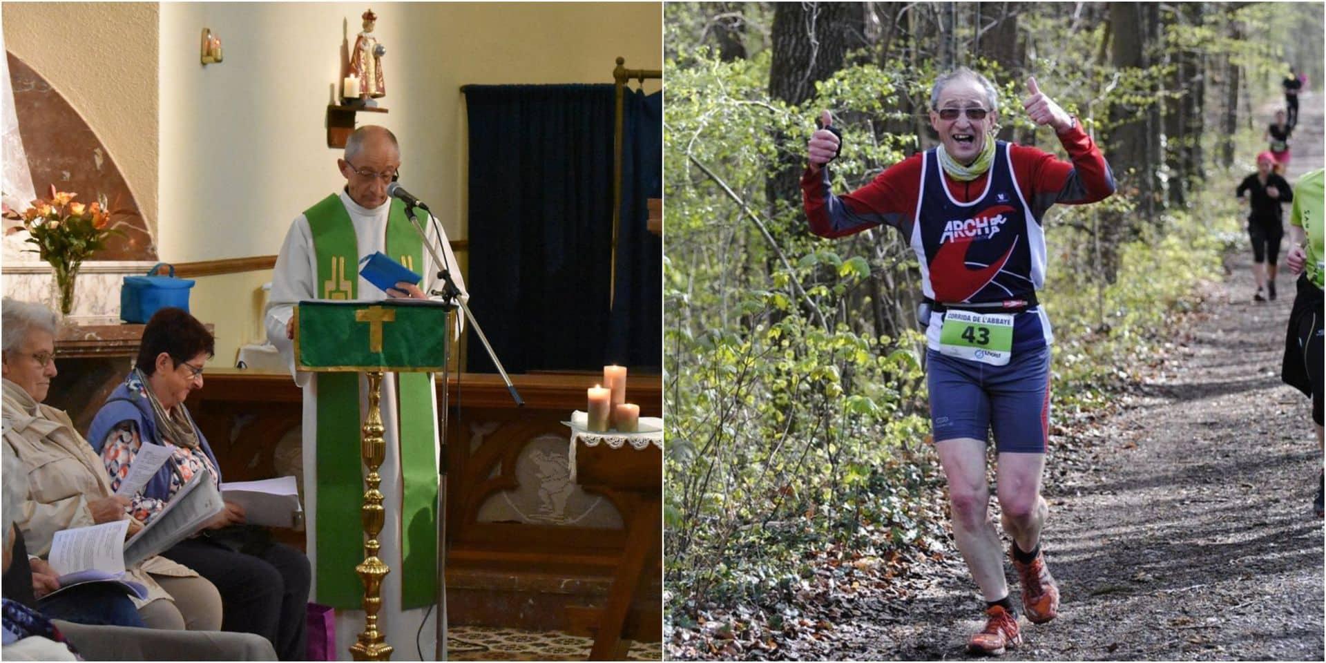 """Rencontre avec l'abbé Fernand Stréber, fan de running: """"Debout à 6 h du matin pour aller courir avant la messe"""""""