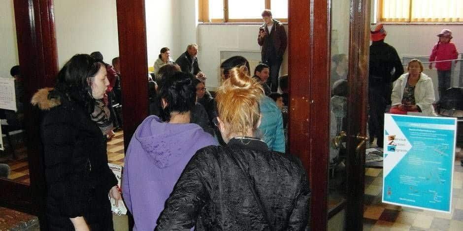 Charleroi: les guichets d'accueil et le service des étrangers en grève ce mardi