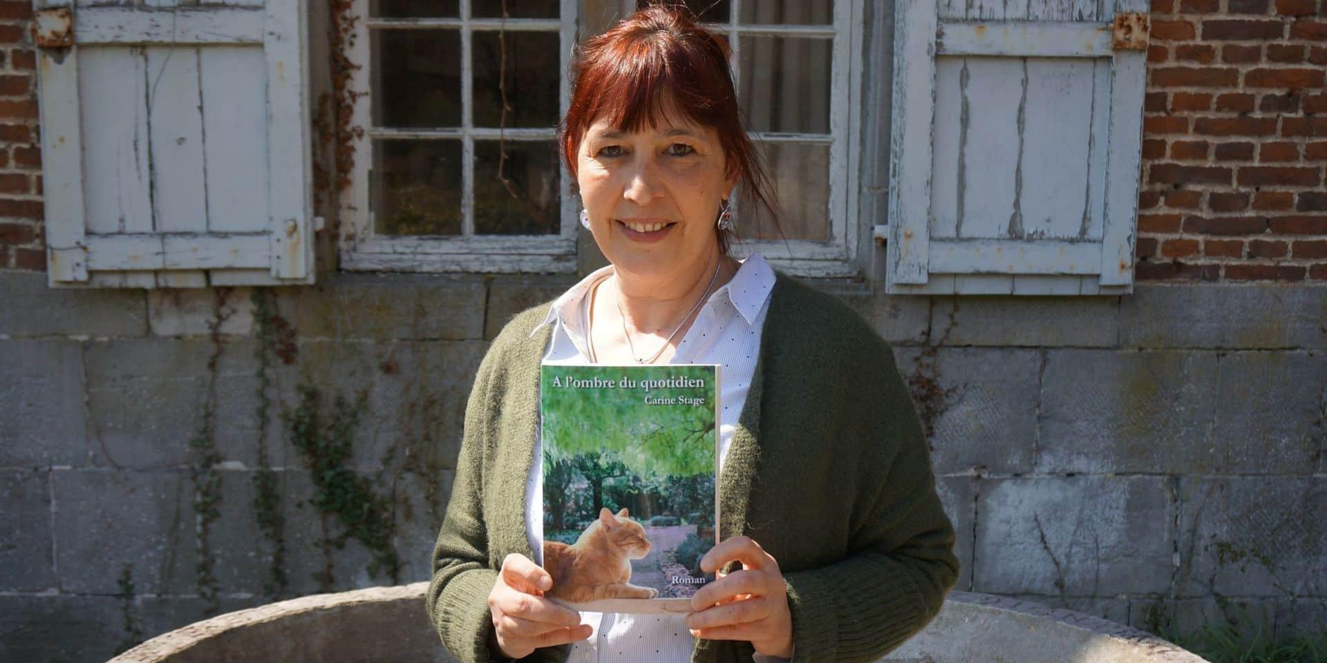 """""""A l'ombre du quotidien"""", un nouveau roman pour Carine Stage, auteure namuroise"""