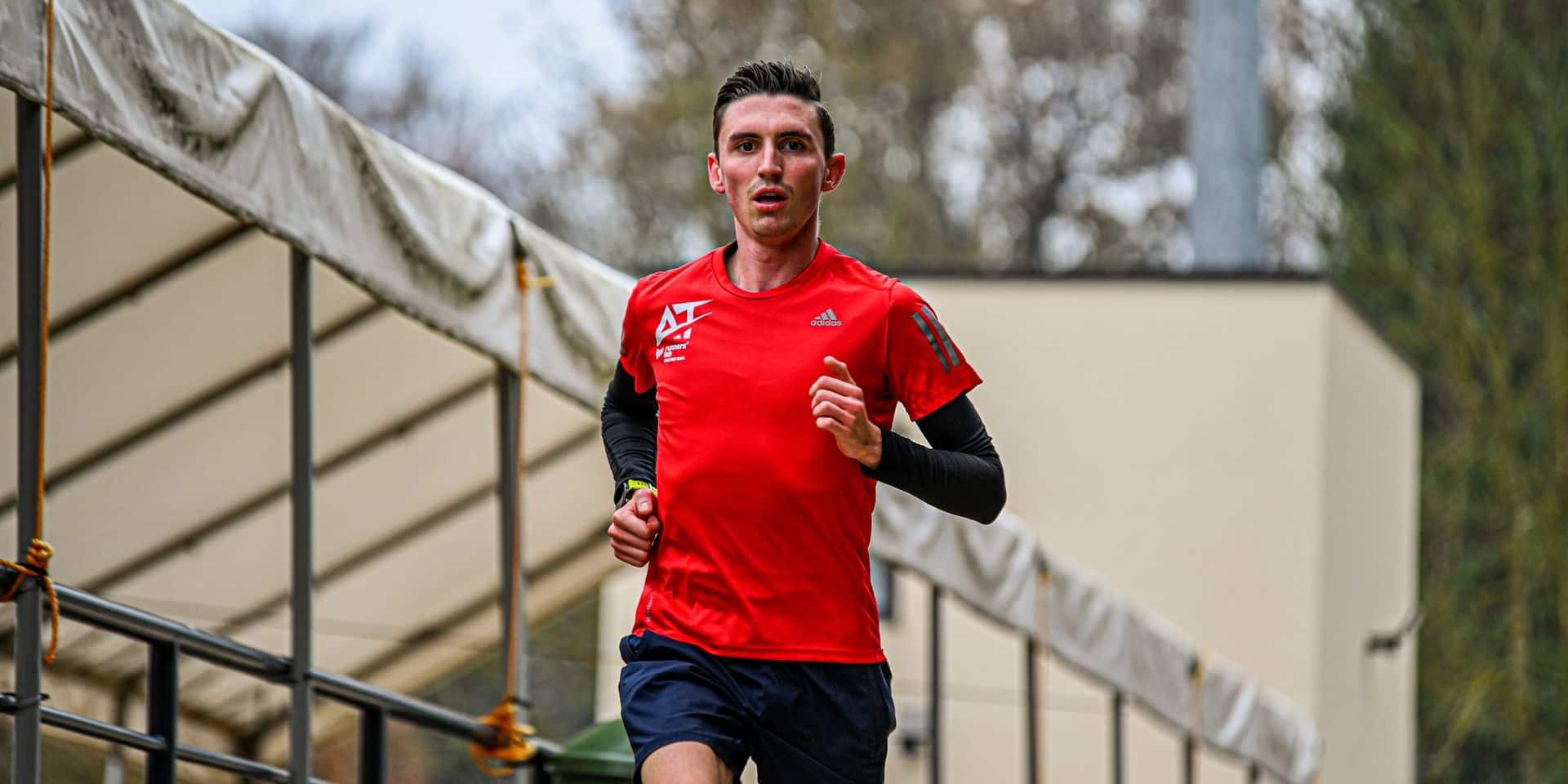 """Dorian Boulvin vise le marathon sans brûler les étapes: """"Toucher à toutes les disciplines de l'athlétisme est la meilleure des écoles"""""""