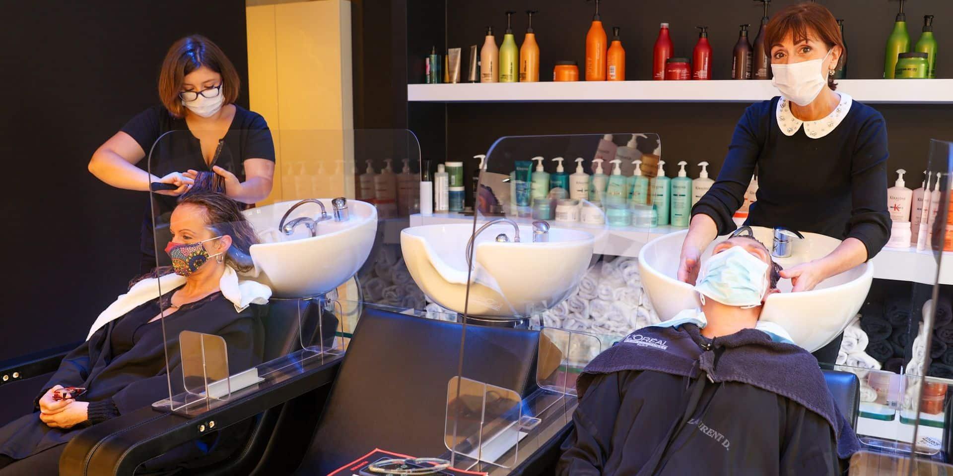 Les experts du GEMS ne préconisent pas la réouverture des coiffeurs le 13 février
