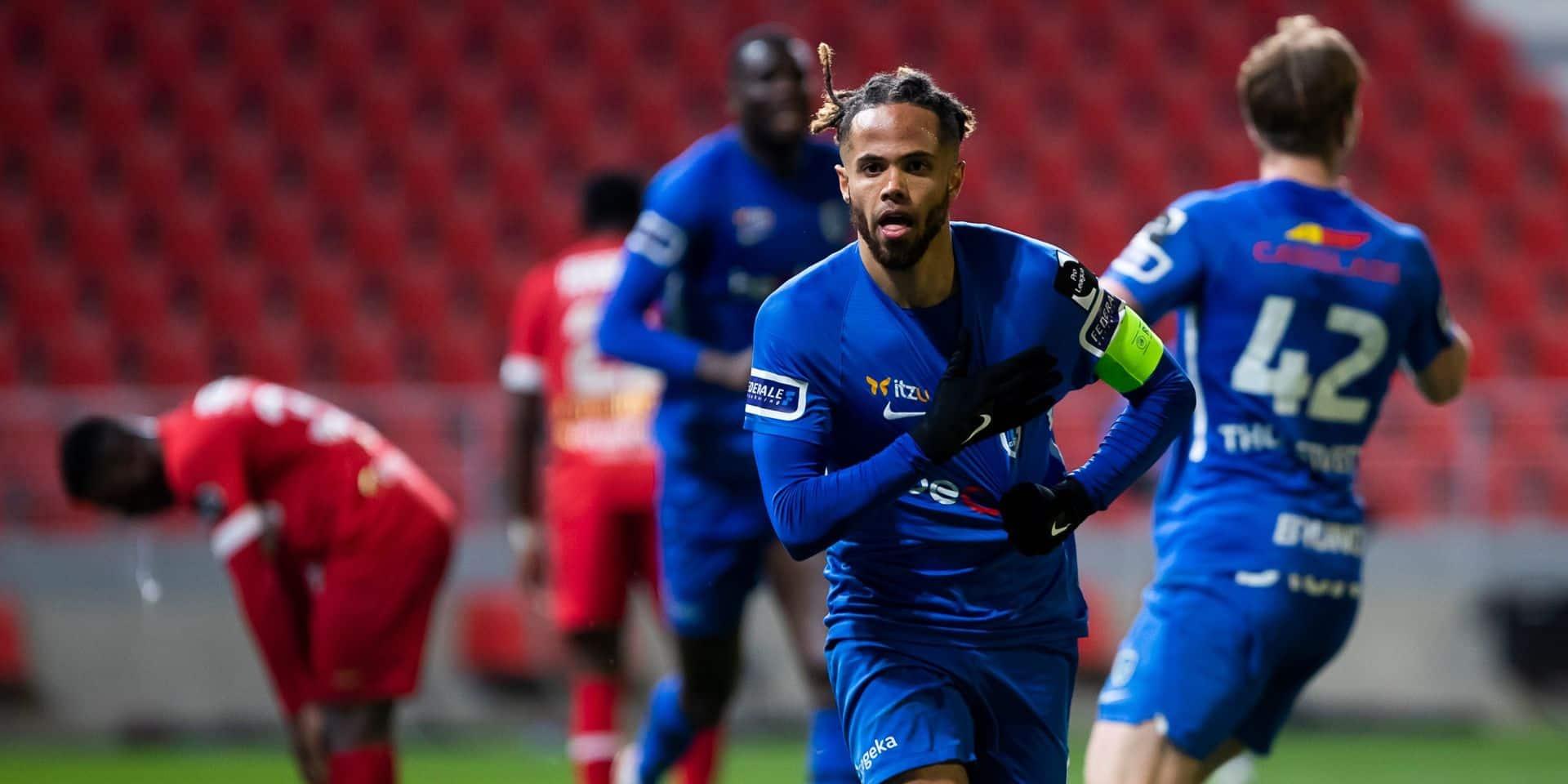Genk renverse l'Antwerp en ouverture des Champions playoffs et passe deuxième