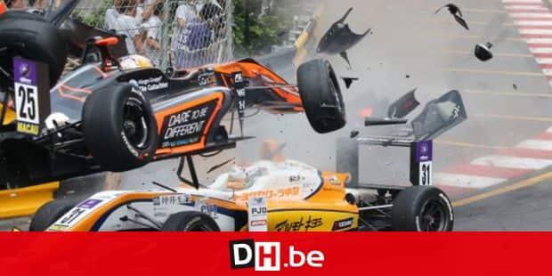 Formule 3: violent accident de l'Allemande Flörsch - rts.ch - Auto - Formule1