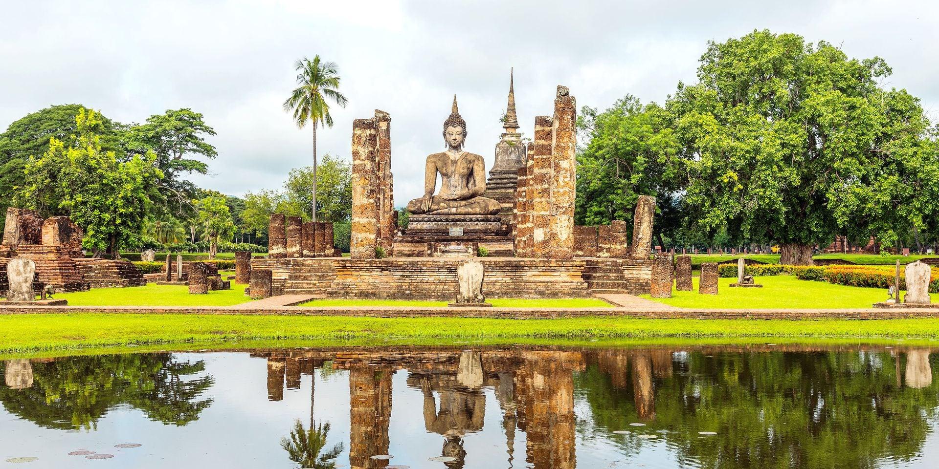 Sukhothaï, la Thaïlande authentique et sans horde de touristes