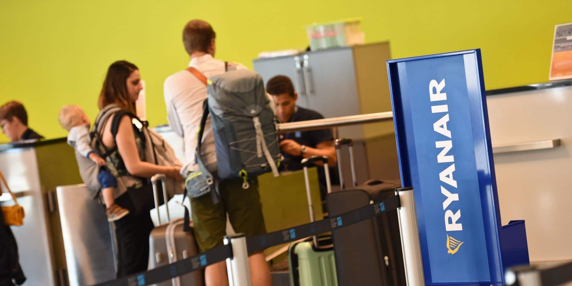 Ryanair supprime les frais de changement de vol pour les réservations de juillet et août