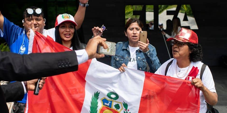 Foot : suspendu pour dopage, le capitaine du Pérou pourrait disputer le Mondial
