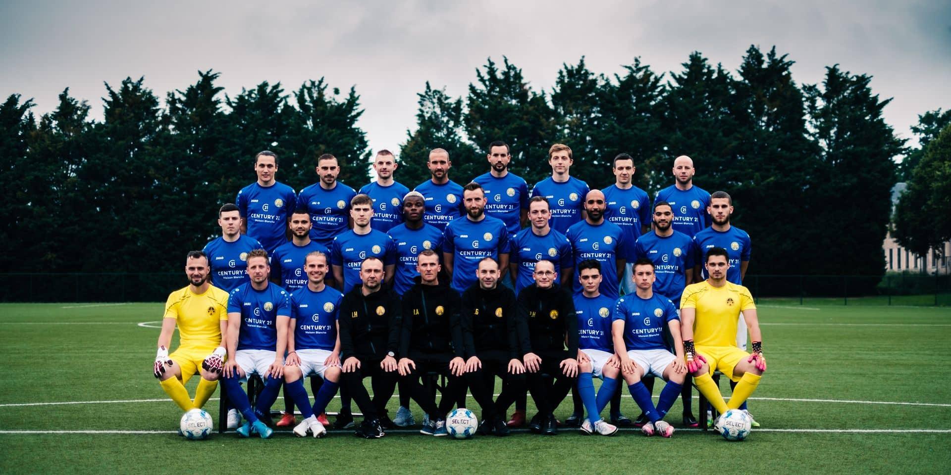 """Le FC Genappe est ambitieux: """"Emmener Genappe à l'échelon national et s'y installer"""""""